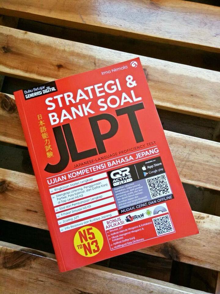 Buku Persiapan JLPT-Strategi & Bank Soal JLPT