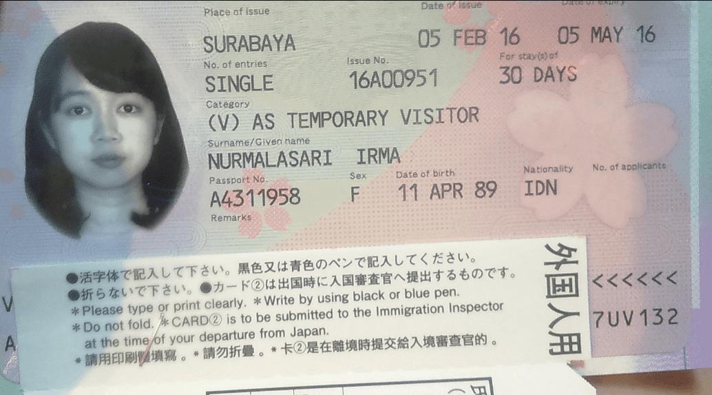 E-Passport bebas visa Jepang