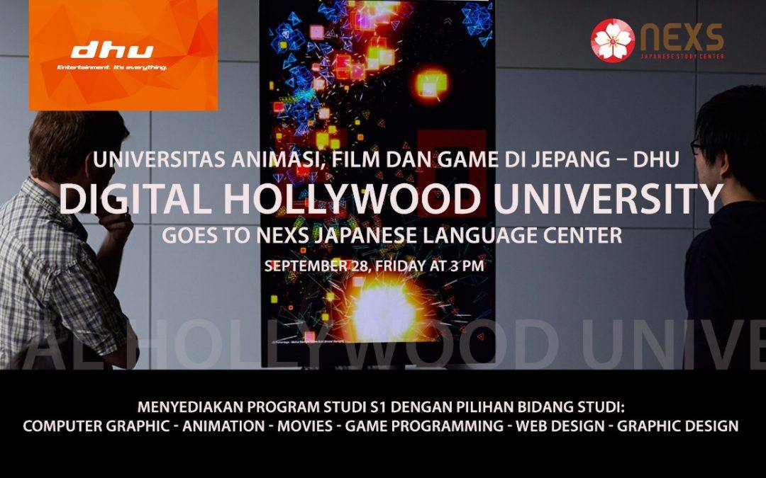 KONSULTASI PENDIDIKAN DHU (Digital Hollywood University)