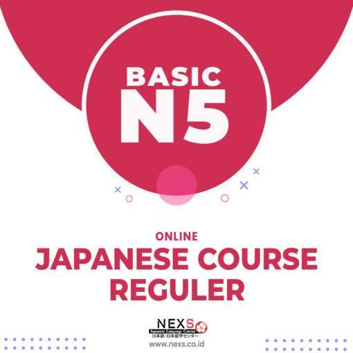 Kelas reguler bahasa jepang online