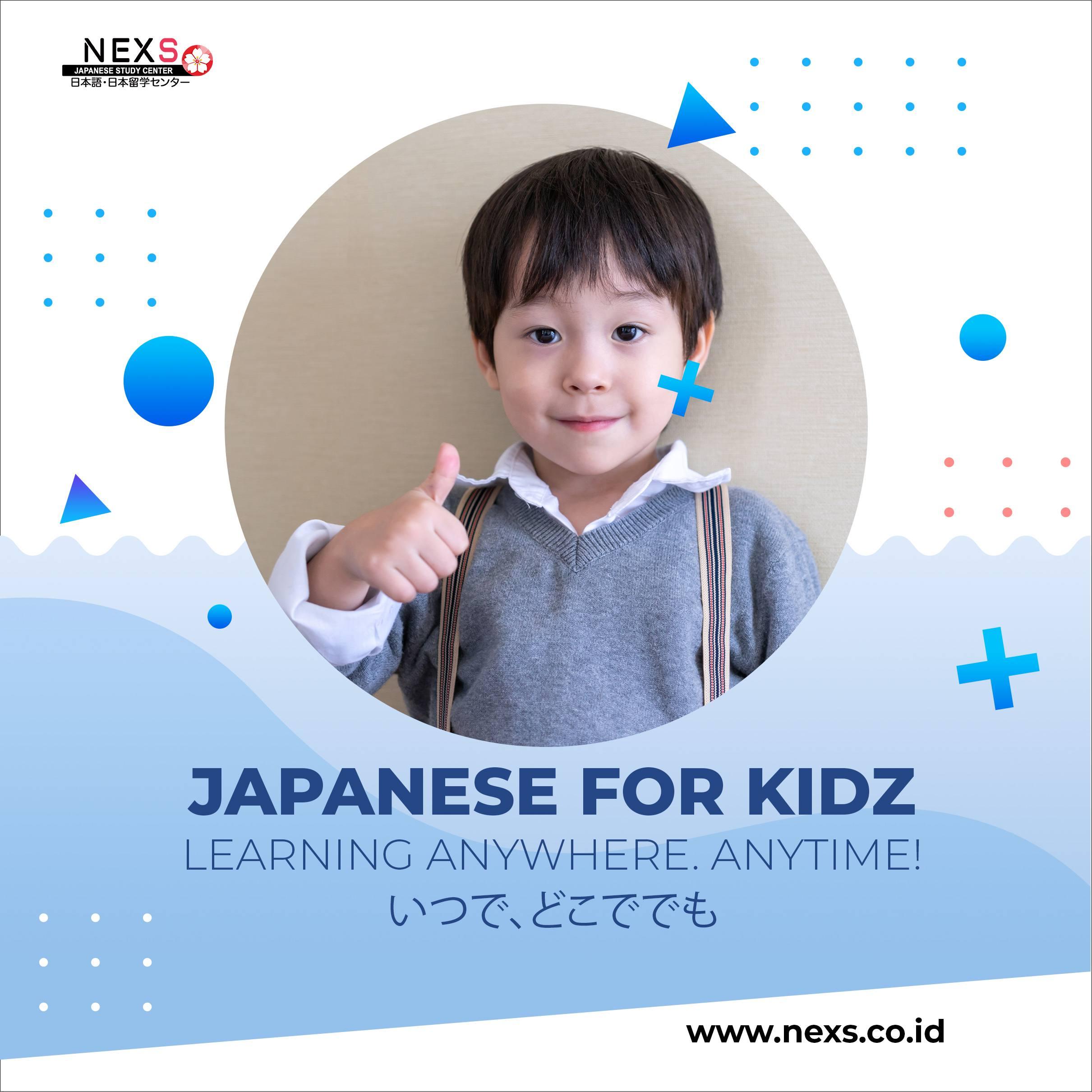 kelas bahasa jepang kids