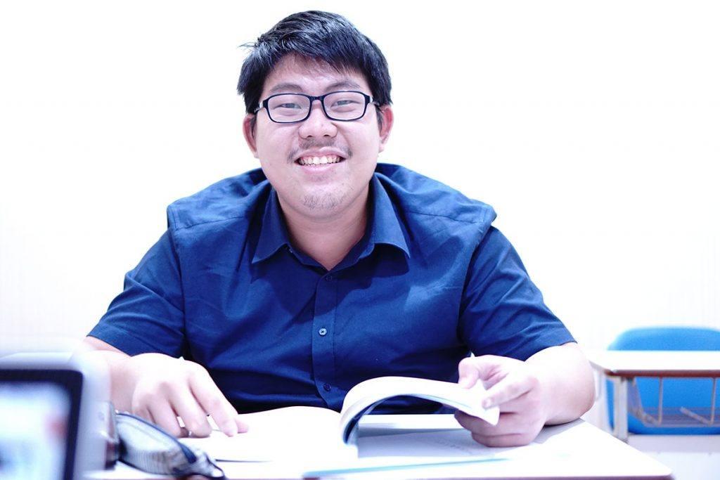 Mr Agung, Mahasiswa Tokyo University yang sedang persiapan bahasa sebelum keberangkatan