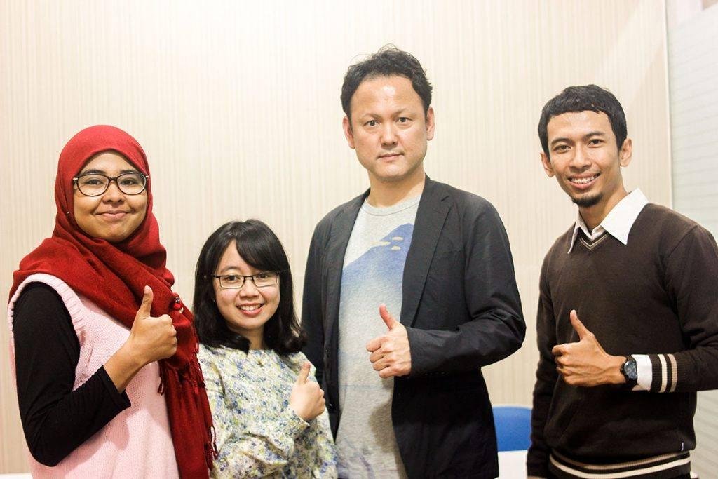 NEXS dan Shinjuku Heiwa Japanese School Partnership